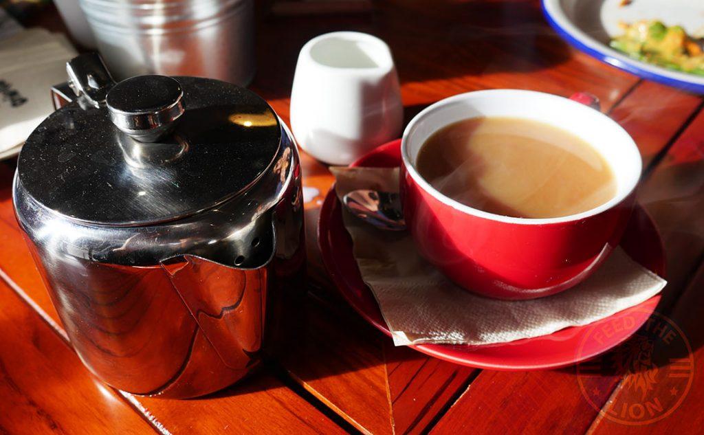 tea Orientee Artisan Bakery & Cafe Birmingham Halal Cake tea