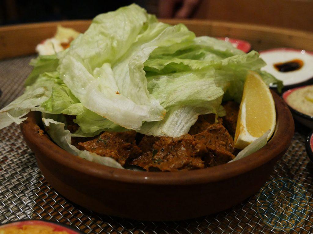 meatballs Ali Ocakbasi Anatolian Grill Turkish Restaurant Halal Leicester Square London Kebab