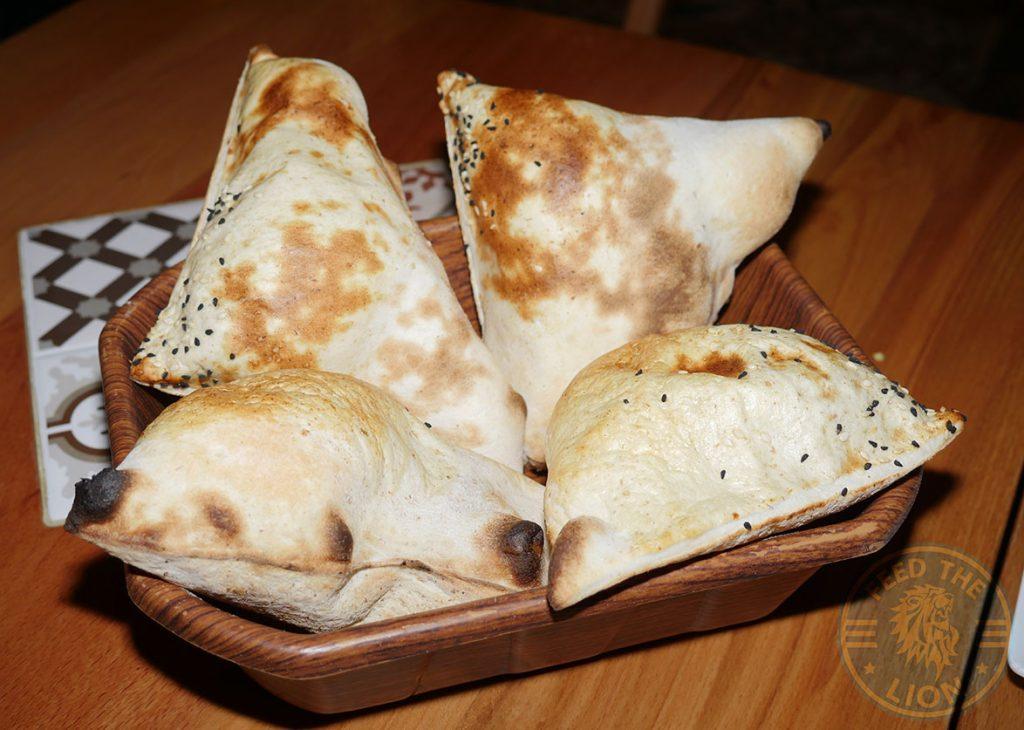 Bread Ali Ocakbasi Anatolian Grill Turkish Restaurant Halal Leicester Square London Kebab