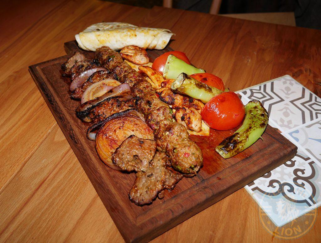 Kebab Ali Ocakbasi Anatolian Grill Turkish Restaurant Halal Leicester Square London Kebab
