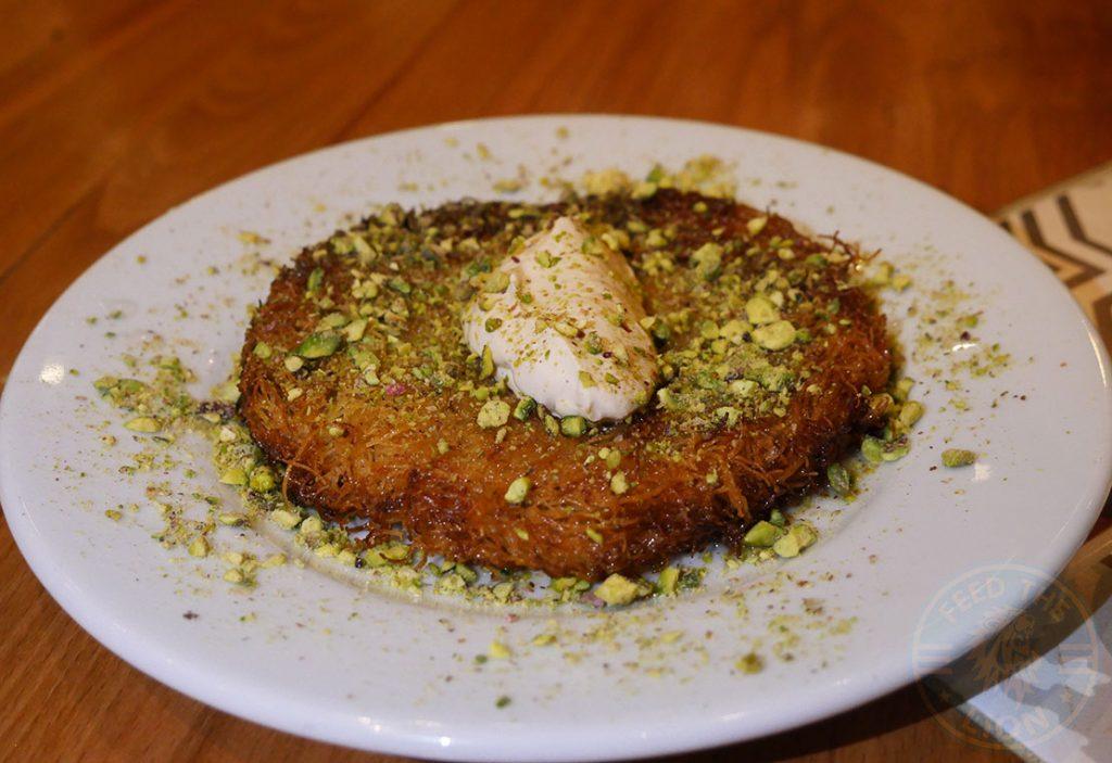Dessert Kunefe Ali Ocakbasi Anatolian Grill Turkish Restaurant Halal Leicester Square London Kebab