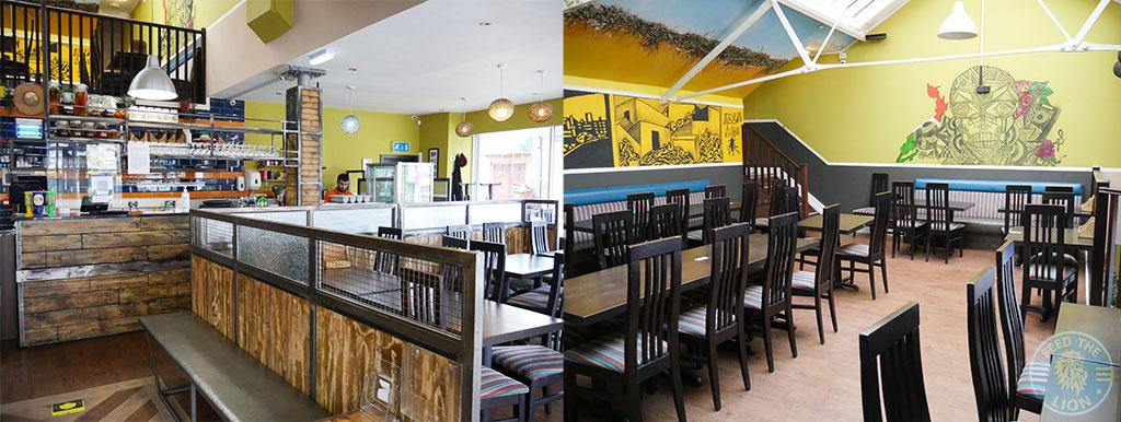 Amigos Sheffield restaurant decore