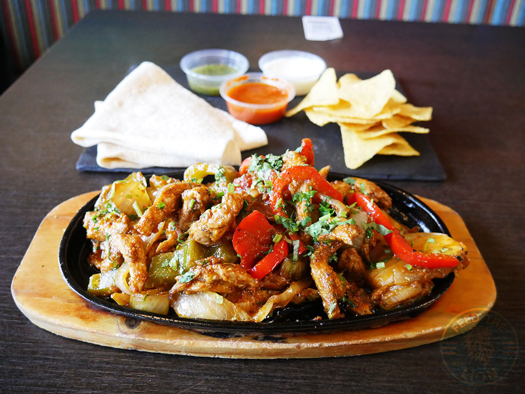 Chicken Fajita - Served with tortilla, salsa and sour cream