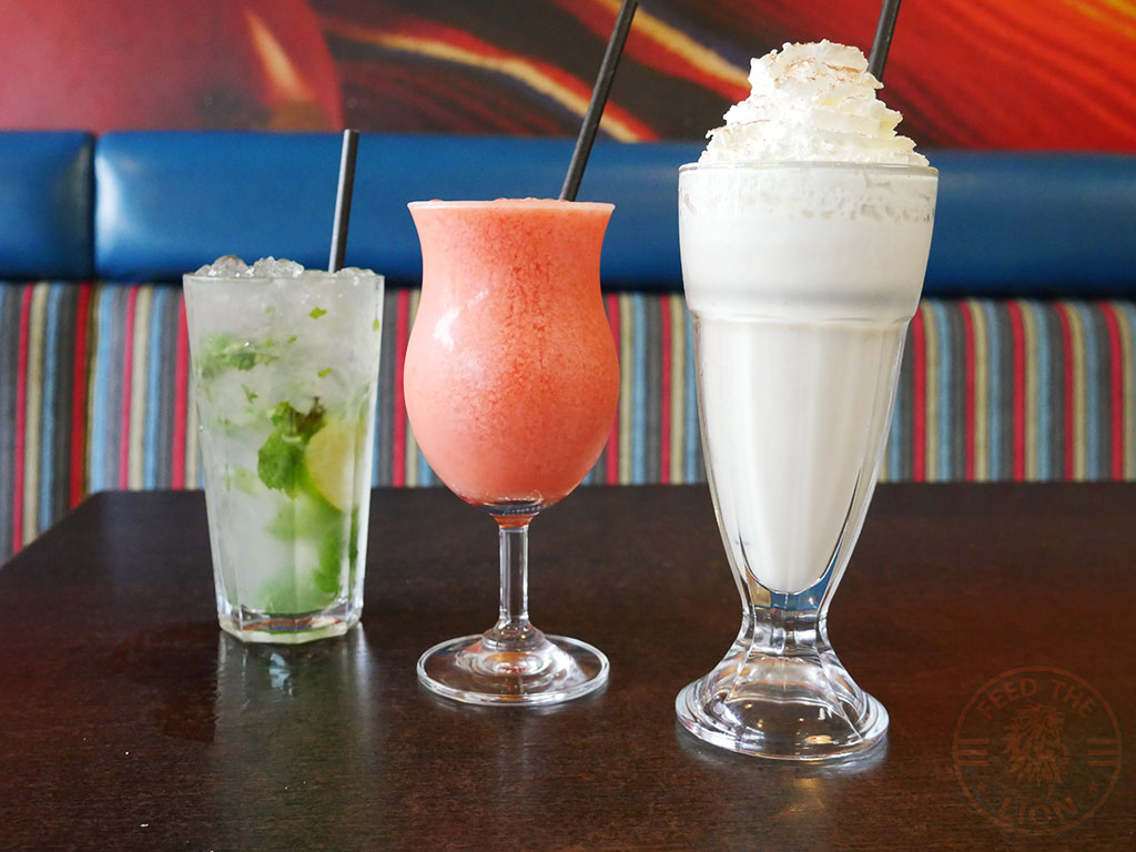 Amigos Mexican Halal restaurant Sheffield drinks and shakes