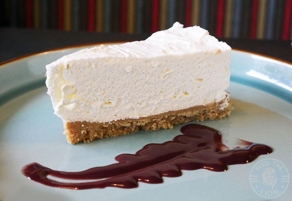 Amigos Mexican Halal restaurant Sheffield dessert Vanilla Cheesecake