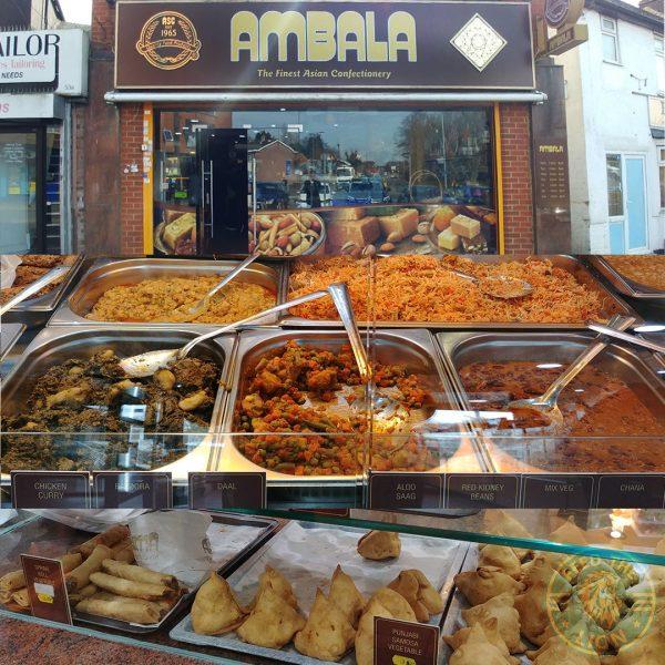 Ambala Slough Asian Pakistani sweets
