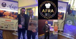 Asian Food and Restaurant Awards 2019 Afra