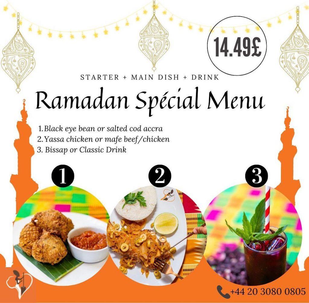 Afrik'n'Fusion Halal Restaurant London Fulham