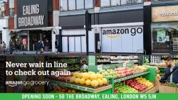 UK's first 'contactless' Amazon Go could open in London Ealing Broadway