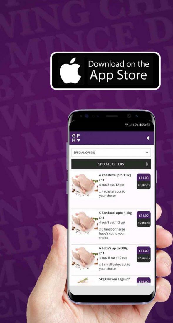 Gafoor Pure Halal Butchers GPH Delivery App