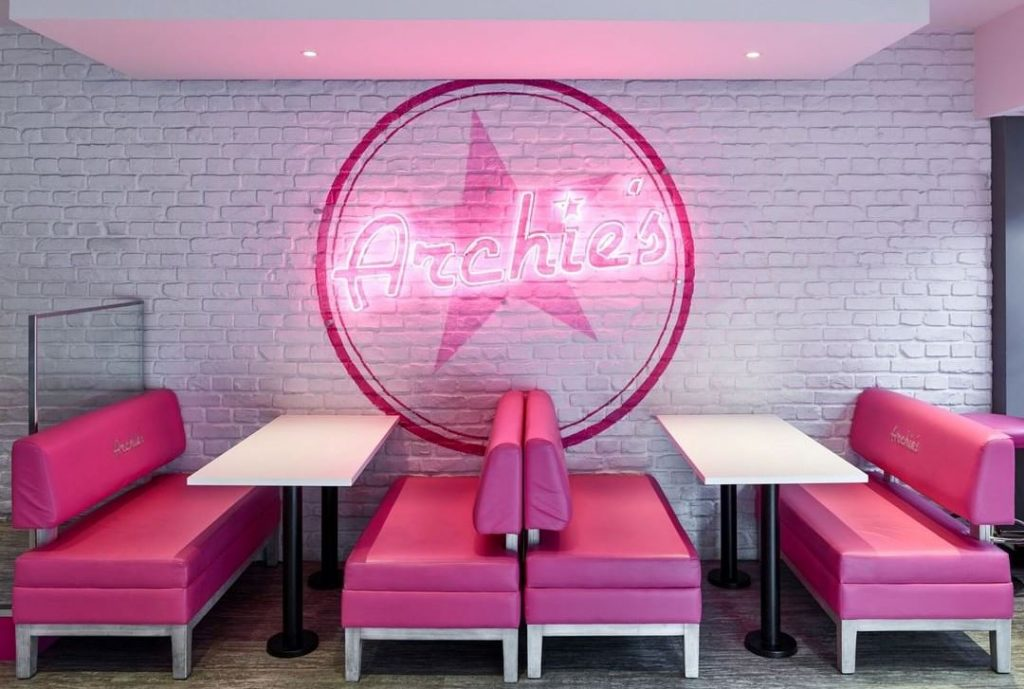 Archie's Burgers Milkshake Manchester