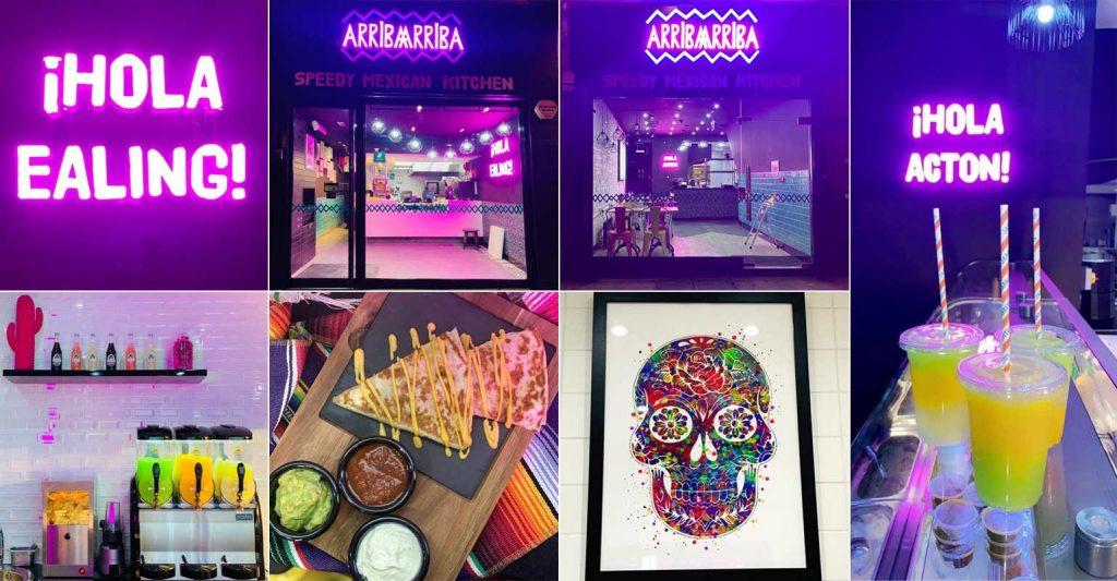 Arriba Arriba Halal Mexican London Ealing Acton