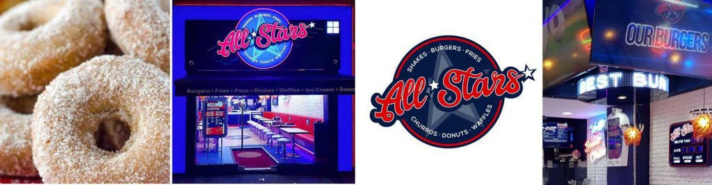 All Stars launch American burgers in Manchester