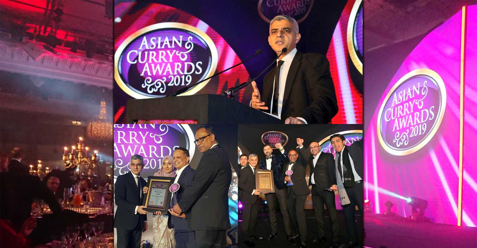Halal Winners At The Asian Curry Awards 2019 Feed The Lion