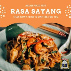 Asian Food Festival UCL Malaysian Society Halal London
