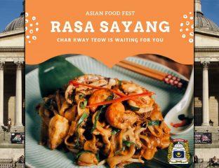 Asian Food Festival UCL Malaysian Society Halal London