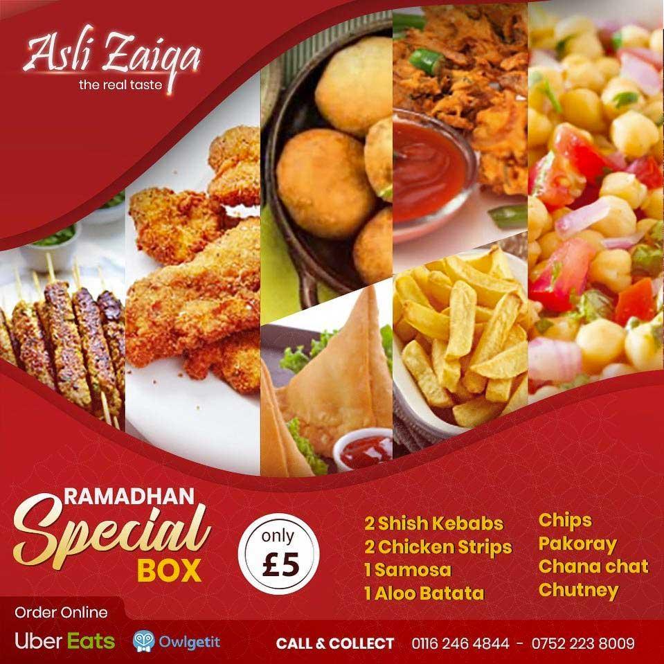 Asli Zaiqa Leicester Ramadan Iftar