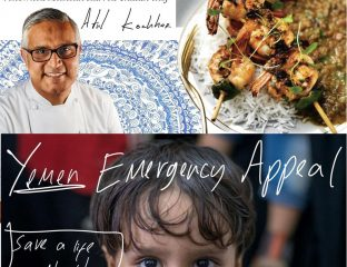 Atul Kochhar Michelin Chef Islamic Relief Yemen Appeal