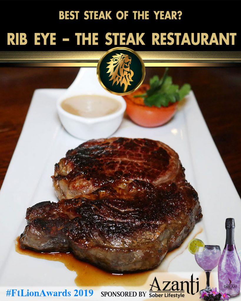 #FtLionAwards 2019-Rib-Eye-The-Steak-Restaurant