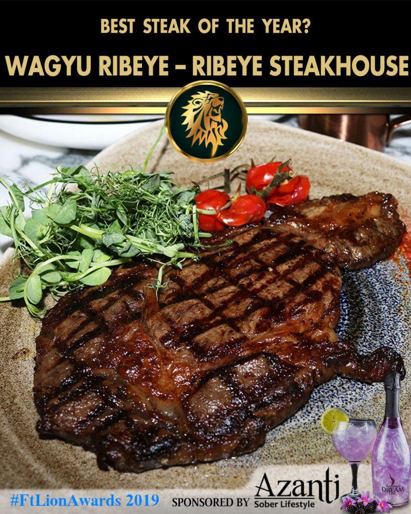 #FtLionAwards 2019 Wagyu-Ribeye-Ribeye-Steakhouse