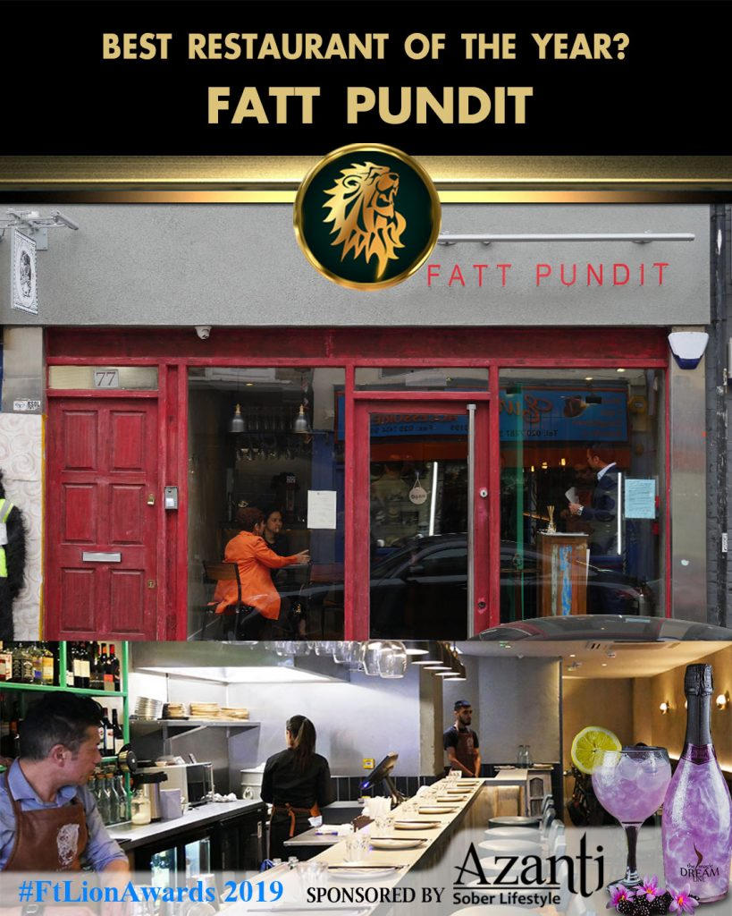 #FtLionAwards 2019 - Best Restaurant of the Year? fatt pundit