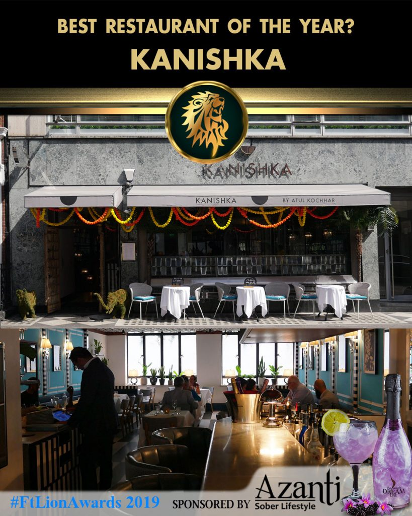 #FtLionAwards 2019 - Best Restaurant of the Year? kanishka