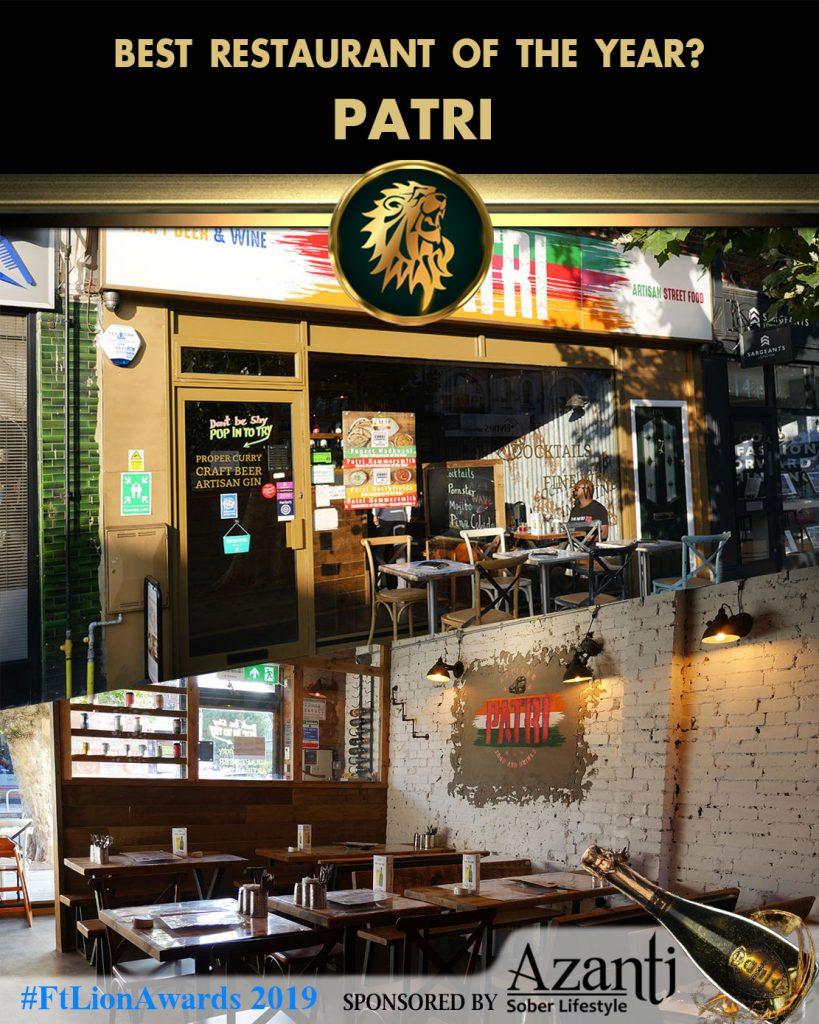 #FtLionAwards 2019 - Best Restaurant of the Year? patri
