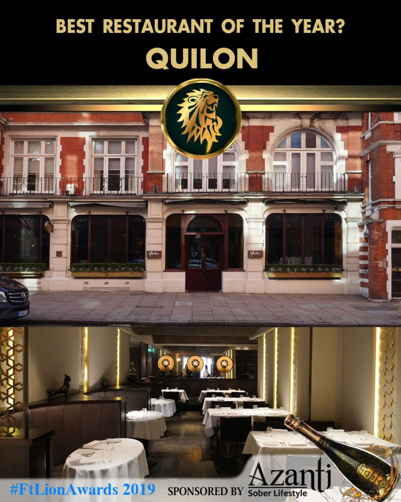#FtLionAwards 2019 - Best Restaurant of the Year? quilon