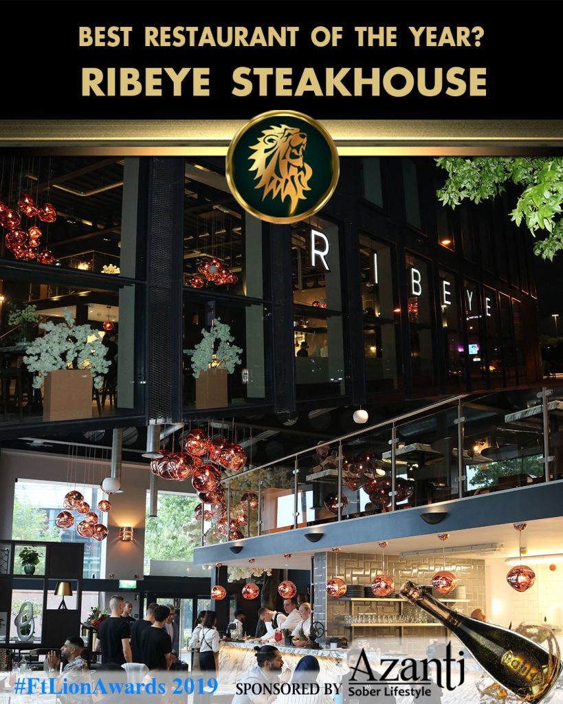 #FtLionAwards 2019 - Best Restaurant of the Year? ribeye steakhouse