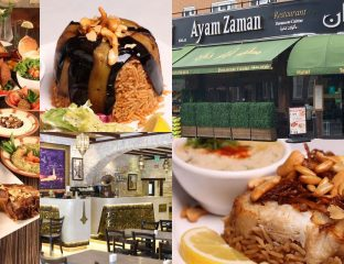 Ayam Zaman Shepherd's Bush Halal Restaurant Lebanese Syrian