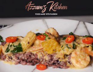 azzamskitchen azzams kitchen green curry recipe halal