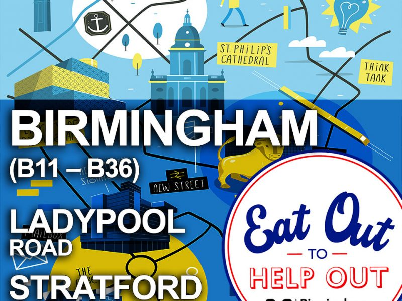 Birmingham Eat Out To Help Out Halal Restaurants