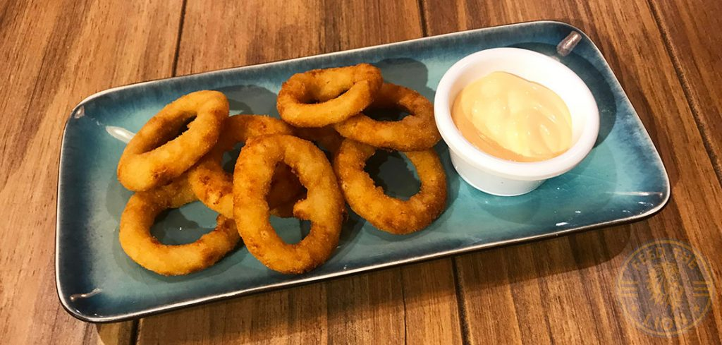 Onion Rings Buffalo's Halal burgers steaks wings Liverpool NSW Australia