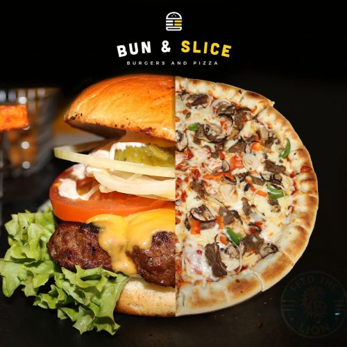 Bun & Slice Halal Manchester restaurant pizza burger