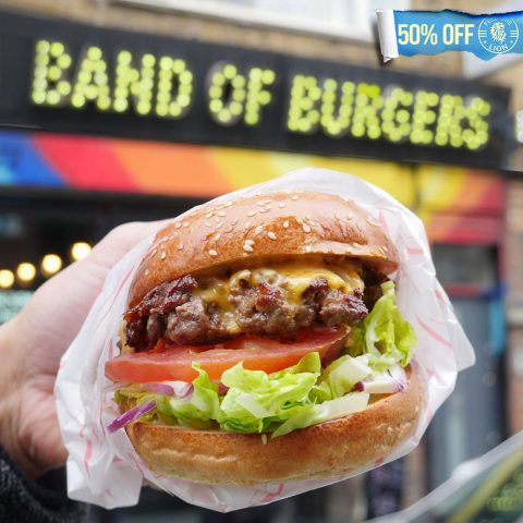 Band of Burgers Brick Lane Whitechapel Halal burger restaurant London
