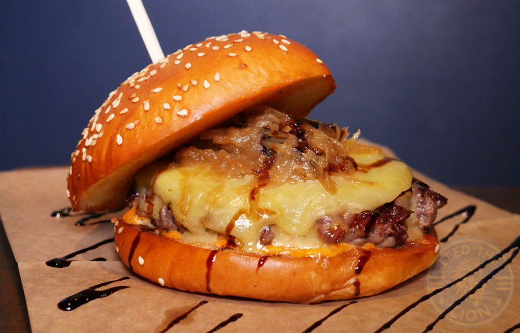 Wagyu Brioche Burger Halal burger Walthemstow Band of Burgers BOB