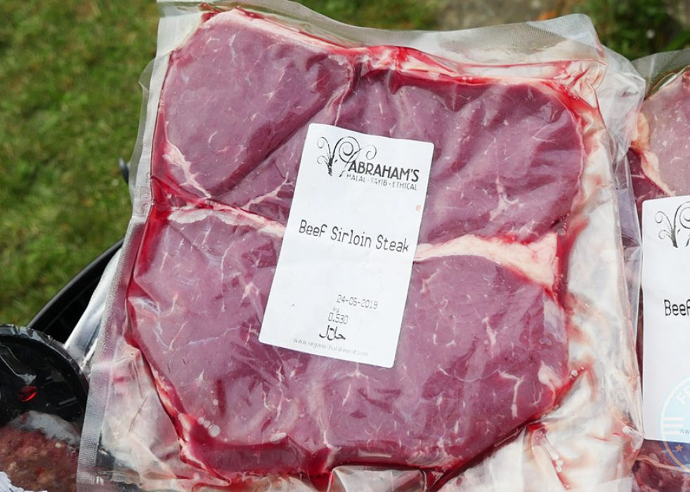 Aberdeen Angus Sirloin Steak Thick Sliced (450g) 2 x 8oz, £12