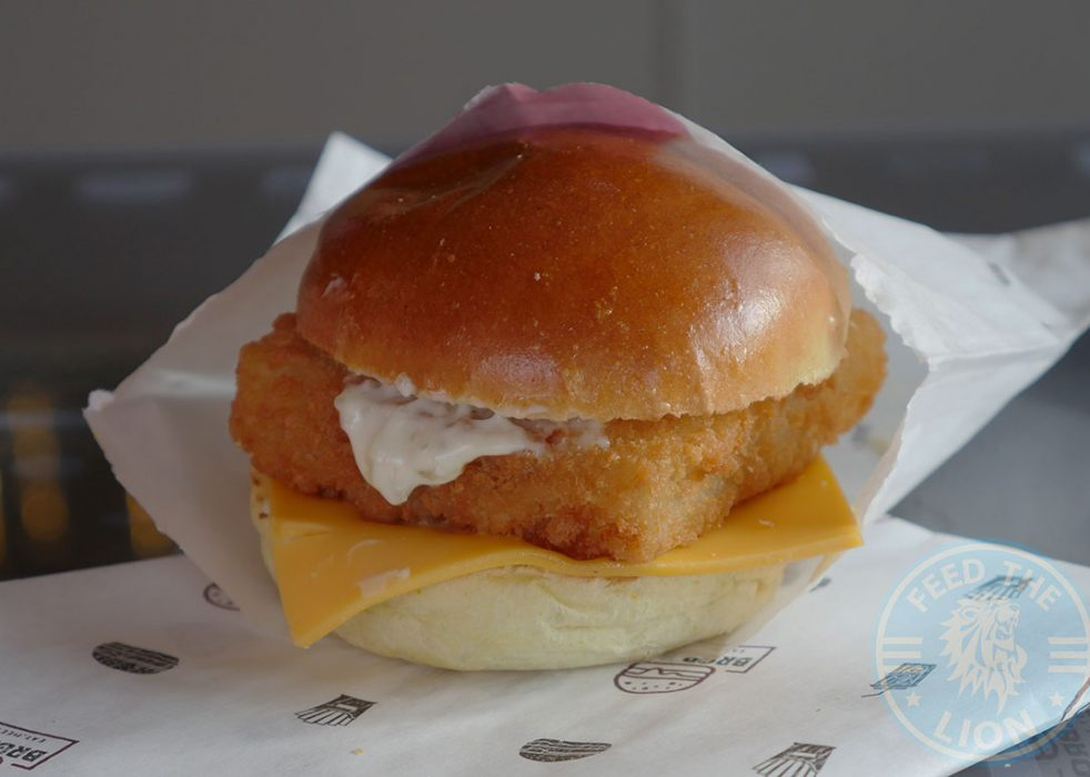 Fish Fillet with a Brioche Bun