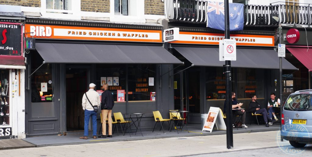Bird Halal Chicken restaurant Camden, London Eat Out To Help Out