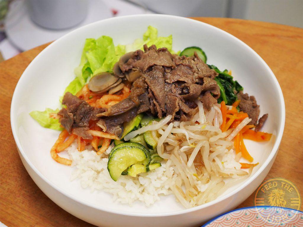 beef Café Bibimbap Halal Korean West Ealing, London