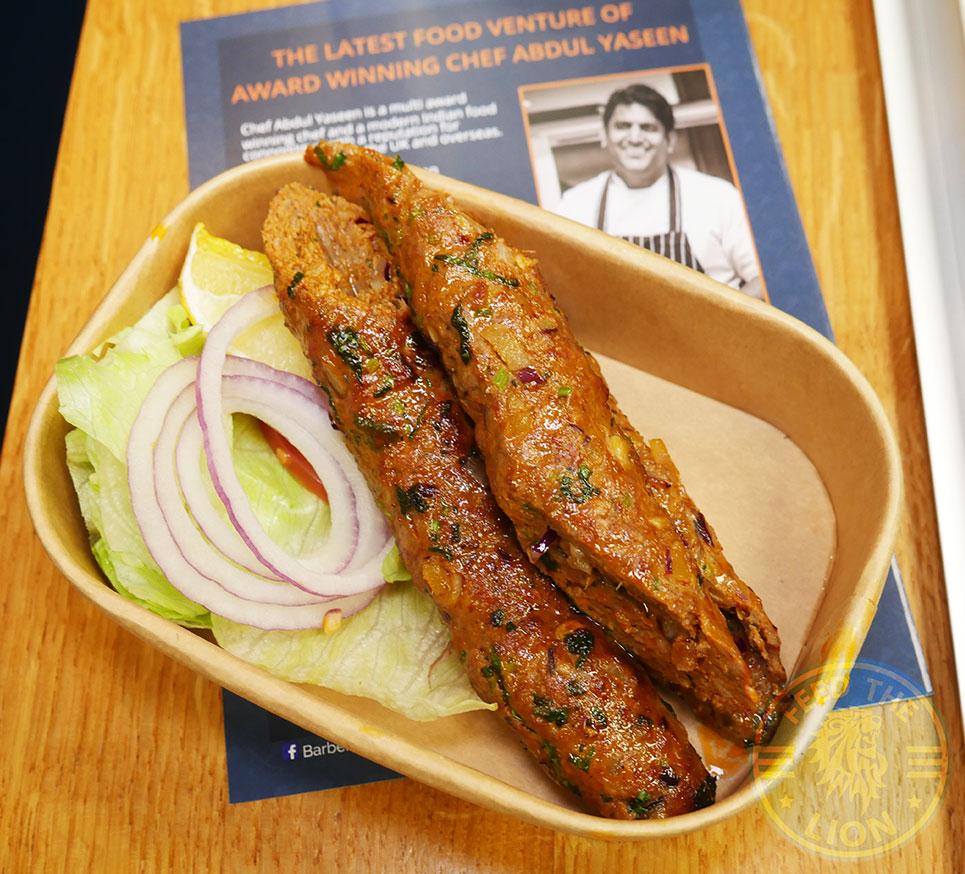 Award winning barbeque Chef Abdul Yasin's Barbers Bazaar