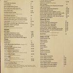 menu Bella Cosa Halal Italian Canary Wharf London restaurant
