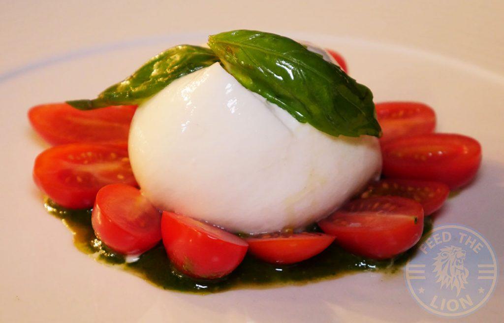 Bella Cosa Halal Italian Canary Wharf London restaurant