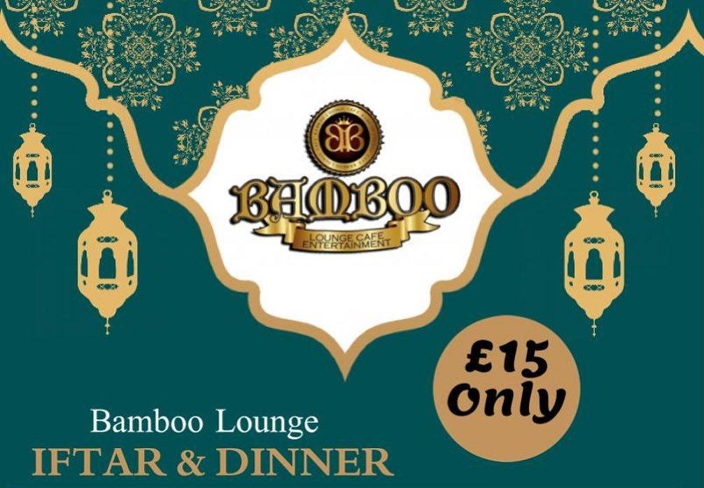Bamboo Lounge Park Royal London halal Restaurant Food
