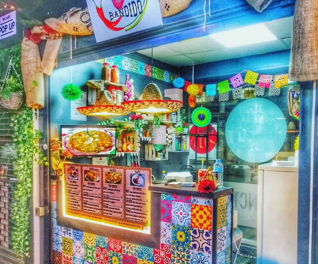Burrito Bandido The Junction Market Halal Street Food London