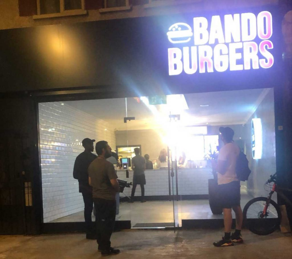 Bando Burgers East Acton London
