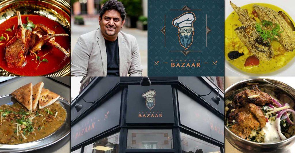 Chef Abdul Yaseen Barbers Bazaar Indian Crouch End London