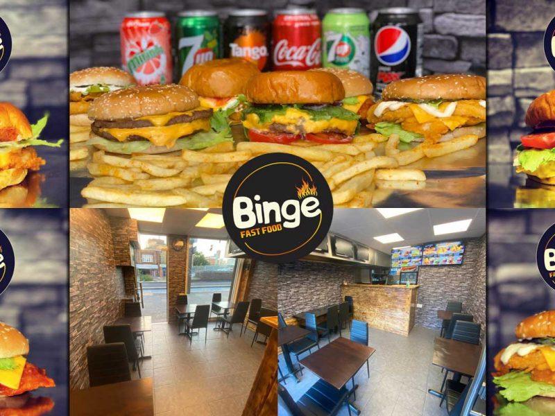 Binge Burgers Stratford London