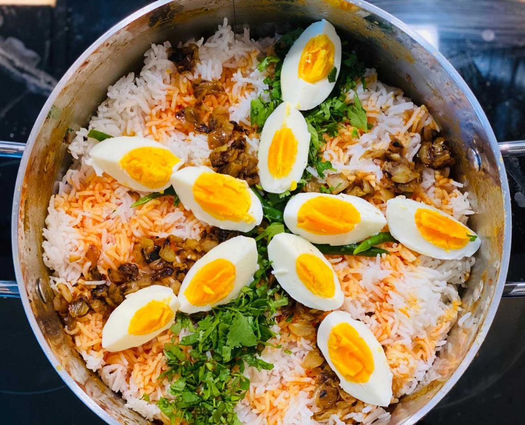 Chef A Lamb Biryani Halal Recipe
