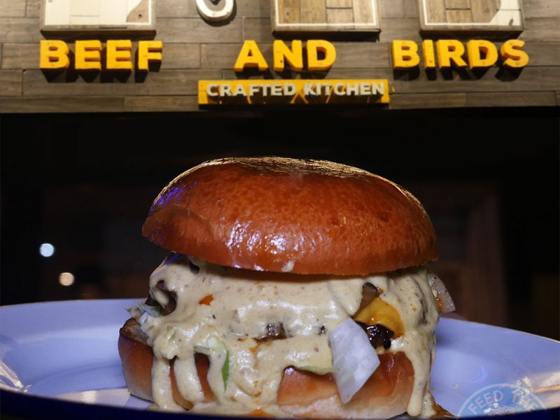 Beef & Birds Halal burger restaurant Spitalfields London Brick Lane